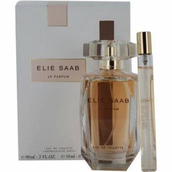 Elie Saab Le Parfum Set-Edt Spray 3 Oz & Edt Spray 0.33 Oz Mini By Eli