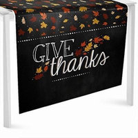 Give Thanks - Thanksgiving Party Table Runner - 24