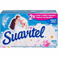 Suavitel Field Flowers Fabric Conditioner Dryer Sheets, 200 sheets