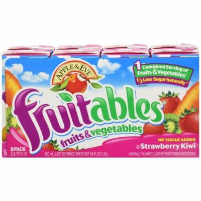 Apple & Eve Fruitables Strawberry Kiwi Juice, 54 FL OZ (Pack of 5)