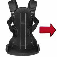 Baby Bjorn We Air Baby Carrier with One Free Safety Reflector in Red with Ergo