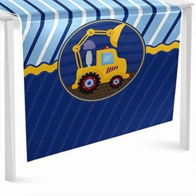 Construction Truck - Party Table Runner - 24