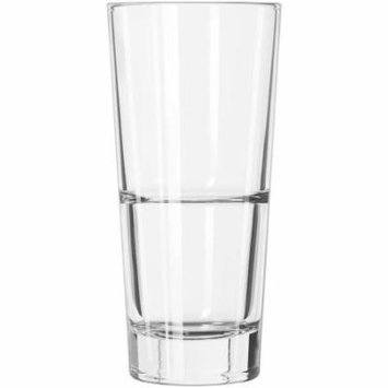 Libbey Endeavor Beverage Glass, 14 oz, 12 count