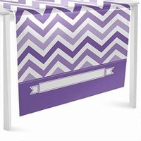 Chevron Purple - Party Table Runner - 24