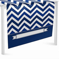 Chevron Navy - Party Table Runner - 24