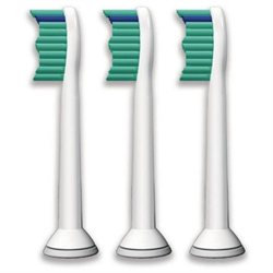 Philips Pro Results Toothbrush Replacement Head, Set of 3