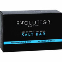 Evolution Salt Crystal Salt Bar - Deodorant Cleansing - 9 oz