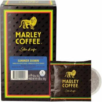 Marley Coffee Simmer Down Vanilla & Soft Spice Decaf Coffee Pods, .34 oz, 12 count