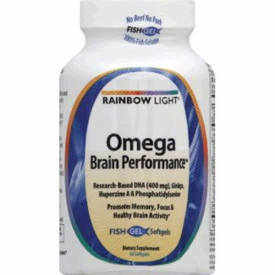 Rainbow Light 450205 Omega Brain Performance 60 Softgels