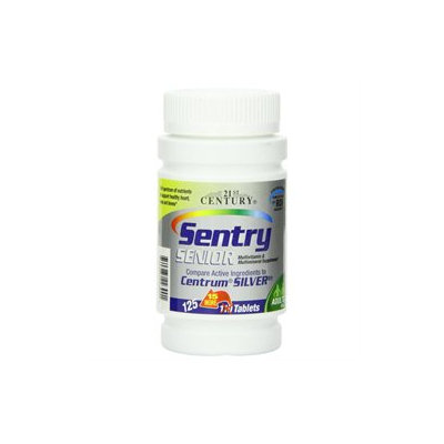 21st Century Healthcare Sentry Senior Multivitamins 100 Tablets, 21st Century Health Care