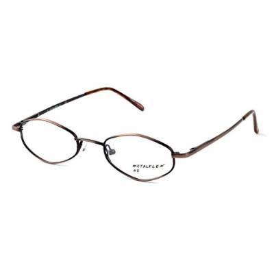 Calabria MetalFlex U Brown Reading Glasses 45mm ; DEMO LENS