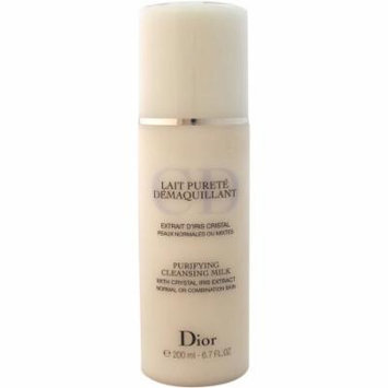 Christian Dior Purifying Cleansing Milk for Normal/Combination Skin, 6.7 fl oz