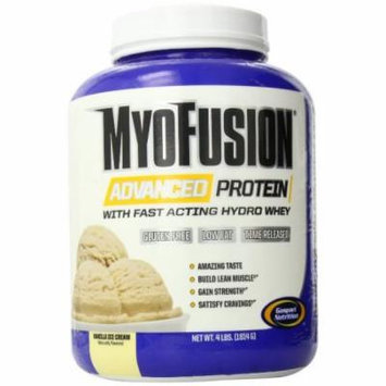 Gaspari Nutrition Myofusion Advanced Protein, Vanilla Ice Cream, 4 Pound