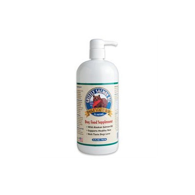 Grizzly Salmon Oil Dog Food Supplement 32 oz Pump