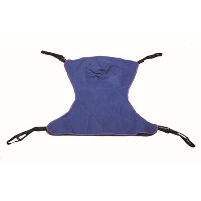 Drive Medical Full Body Patient Lift Sling W/Commode Cutout - 13221L
