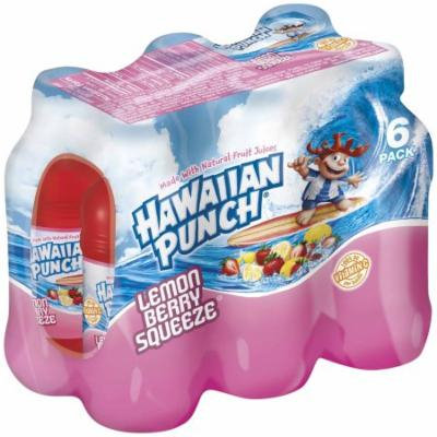 Hawaiian Punch Lemon Berry Squeze Mix, 6 CT (Pack of 4)