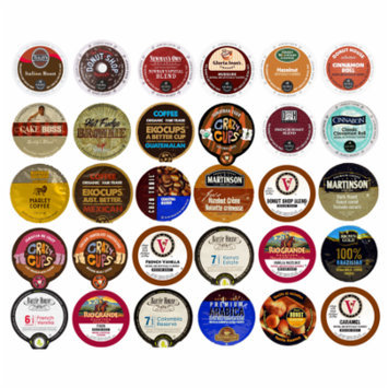 Deluxe Coffee Single Serve cups For Keurig K Cup Brewer Variety Pack Sampler, 30 count