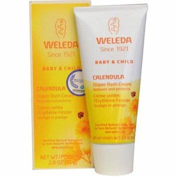 Weleda Baby Care Products Calendula Diaper Rash Cream, 2.8 oz