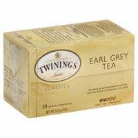 Twinings Of London Earl Grey Tea, 20 CT (Pack of 6)
