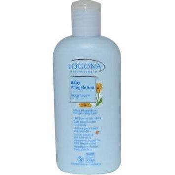 Logona Natural Body Care Baby & Kids Products, Calendula Baby Body Lotion, 6.8 oz