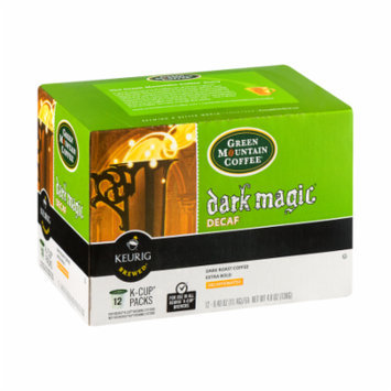 Green Mountain Coffee Dark Magic Decaf K Cup , 12 CT (Pack of 6)