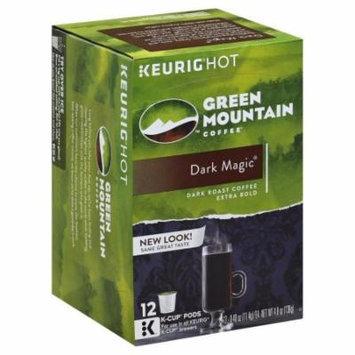 Green Mountain Coffee Green Mountain Coffee, Dark Magic, K-Cup Packs, 4.87 OZ (Pack of 6)