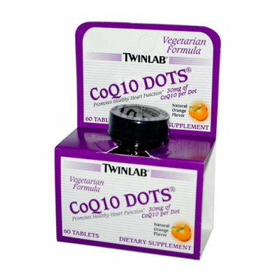 Twinlab CoQ10 Dots Natural Orange 30 mg 60 Tablets