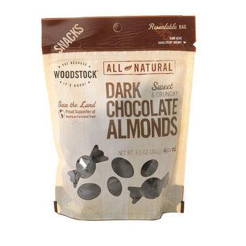 WOODSTOCK All-Natural Dark Chocolate Almonds