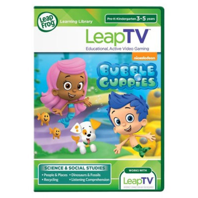 LeapFrog LeapTV Bubble Guppies Educational, Active Video Game