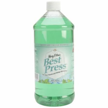 Mary Ellen Products 600R-85 Best Press Refill Starch Alternative, 32-Ounce, Mint Splash Multi-Colored