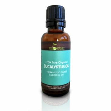 Eucalyptus Essential Oil By Sky Organics-100% Organic & Therapeutic (4 Pack)