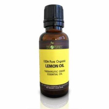 Lemon Essential Oil By Sky Organics-100% Pure Organic Lemon Oil 1oz