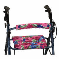 Nova Backrest & Seat Cover, 14 Inch, English Garden, 1 ea