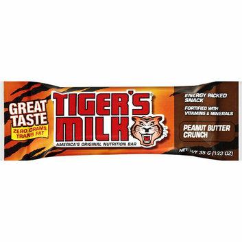 Tigers Milk Bar Peanut Butter Crunch Case of 24 1.23 oz
