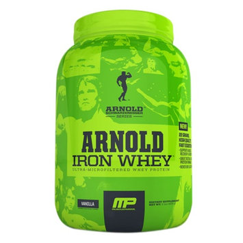 MusclePharm Arnold Schwarzenegger Series Iron Whey Vanilla
