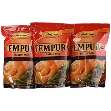 Roland Tempura Batter Mix, 17.6-Ounce (Pack of 6)