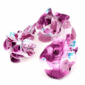 Pink Purple Blue Flower Style Design Hair Clip for Girls