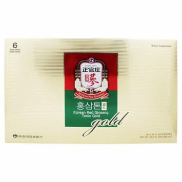 Korean Ginseng - Korean Red Ginseng Tonic Gold - 30 Pouches
