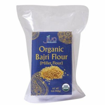 Jiva USDA Organic Millet Flour (Bajri / Bajra Flour) 2 Pound Bag