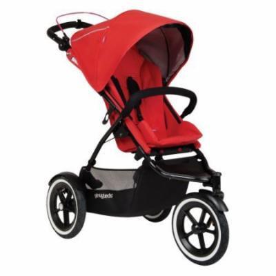 Phil & Teds Sport Inline Stroller - Cherry