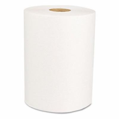 Boardwalk Office Packs Perforated Towels, 2-Ply, White, 9 x 11, 70/Roll, 15 Rolls/Bundle BWK611