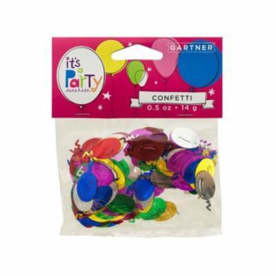 Bulk Buys Festive Balloons Confetti, Case of 24