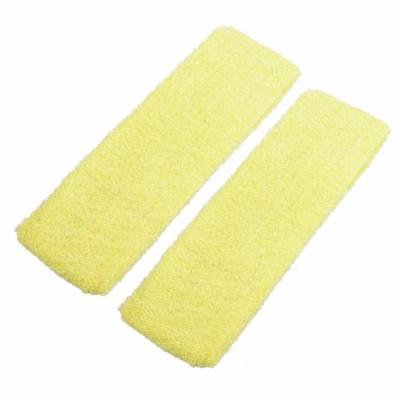 2 Pieces Yellow Stretchy Hairstyle Binder Hair Band for Women