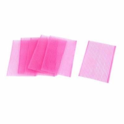 6 pcs Magic Paste Posts Fringe Bangs Stickers Cosmetic Tool Pink