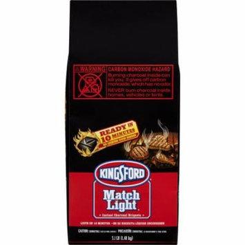 Kingsford Match Light Instant Charcoal Briquettes, 3.1 Pounds