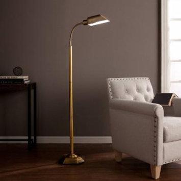 OttLite Geniveve Floor Lamp, Honey Brass