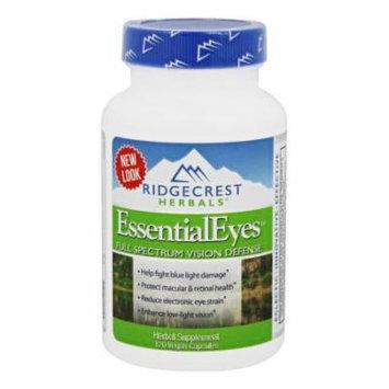 Ridgecrest Herbals - EssentialEyes - 120 Vegan Caps