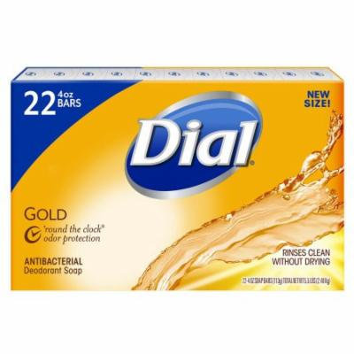 Dial® Antibacterial Deodorant Gold Bar Soap