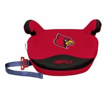 NCAA Backless Booster Seat by Lil Fan, Slimline - Louisville Cardinals