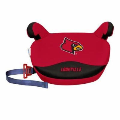 NCAA Backless Booster Seat by Lil Fan, Slimline - Louisville Cardinals